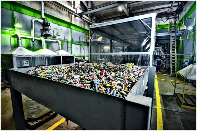 батарейки на заводе