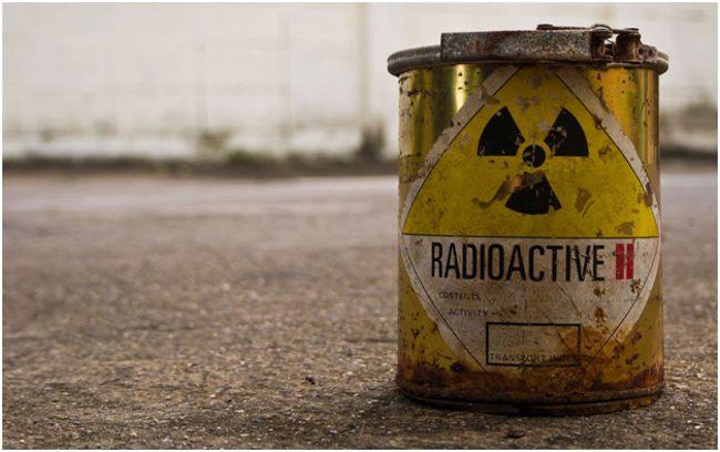 бочка с радиоактивным веществом