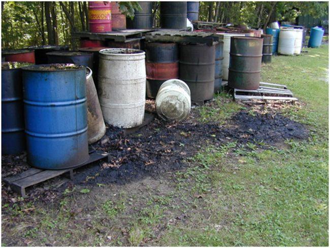 бочки из под нефти