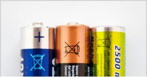 эко значок на батарейках