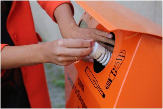 контейнер для ртутных отходов