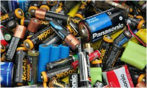 куча батареек