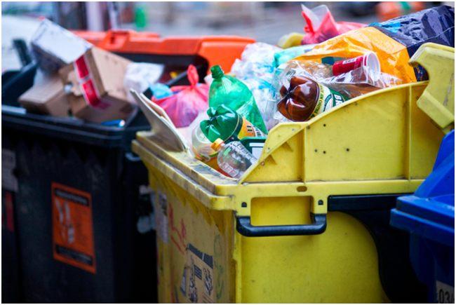 мусор в баках