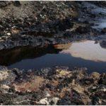 нефтяная лужа