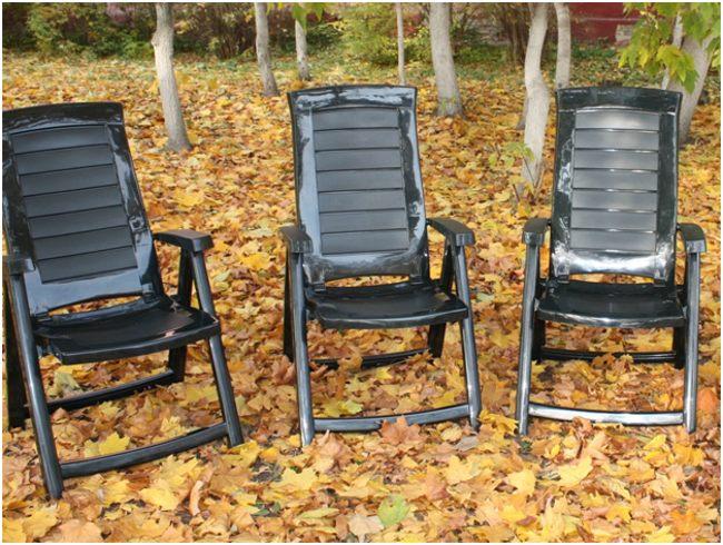 пластиковые стулья из вторсырья