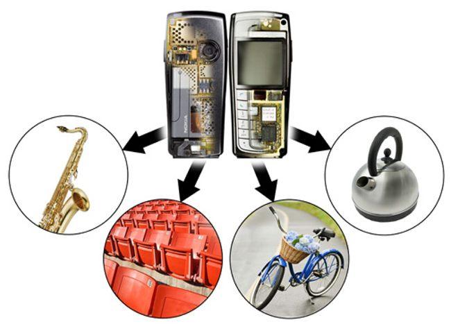 продукты переработки мобильных телефонов