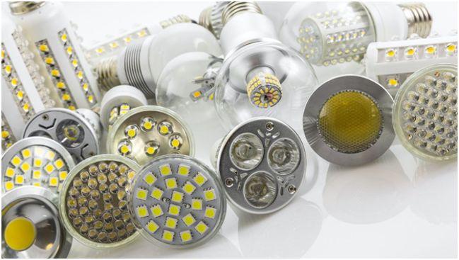 разные виды светодиодных ламп