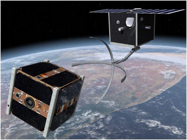 робот уборщик космического мусора