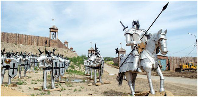 рыцари на свалке иркутска