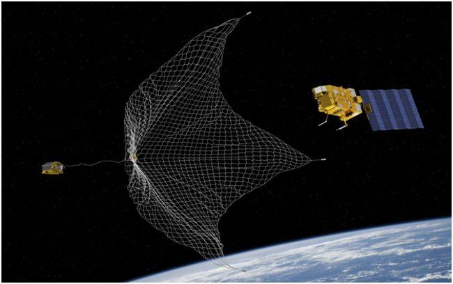 сеть для космического мусора