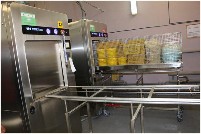 стерилизатор для мед отходов