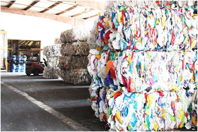 тюки из пнд отходов