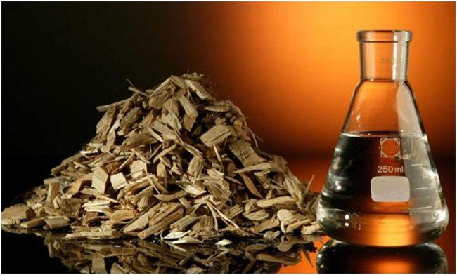 жидкое топливо из отходов древесины