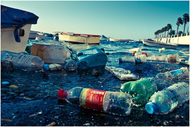 бутылки в море