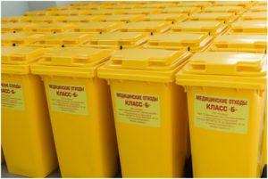 контейнеры для отходов б класса