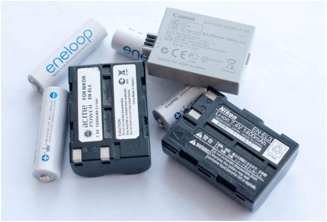 литий-ионные батарейки