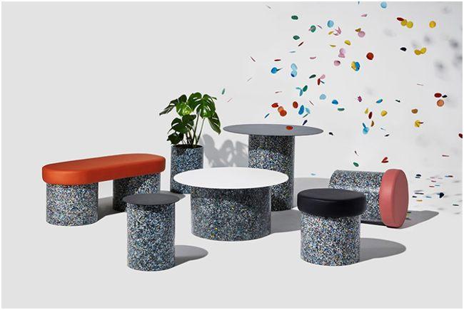 мебель из вторичного пластика