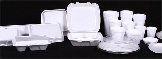 посуда из полистирола