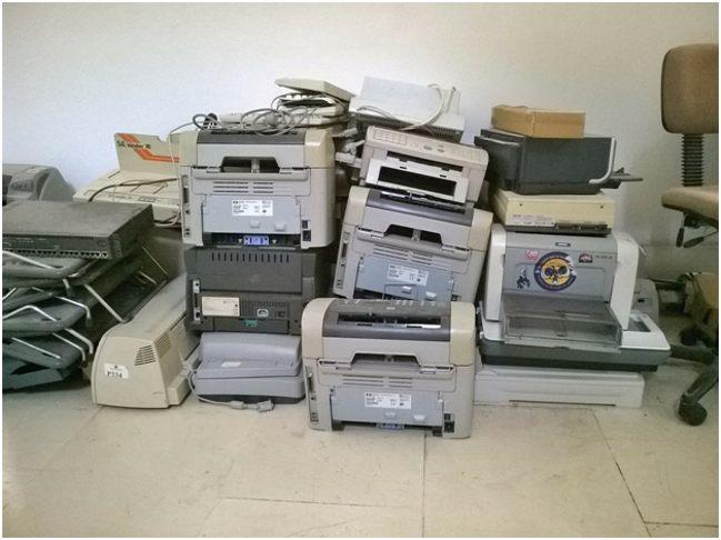 принтеры в куче