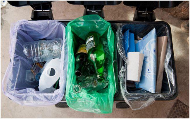 раздельный сбор мусора дома