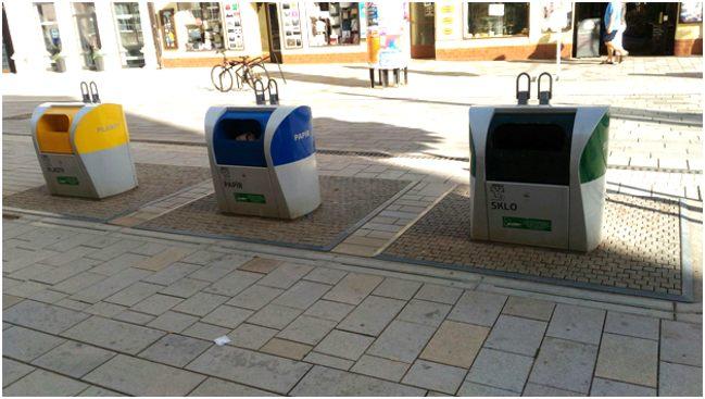 раздельный сбор мусора в чехии