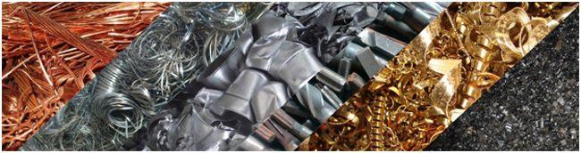 разные виды металлолома
