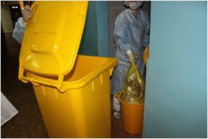 сбор мед отходов б класса
