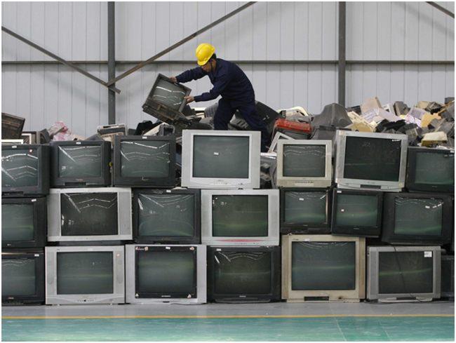 телевизоры старые на переработку