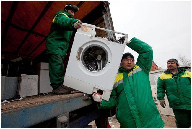 транспортировка стиральной машины