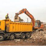 вывоз строительных отходов после демонтажа здания