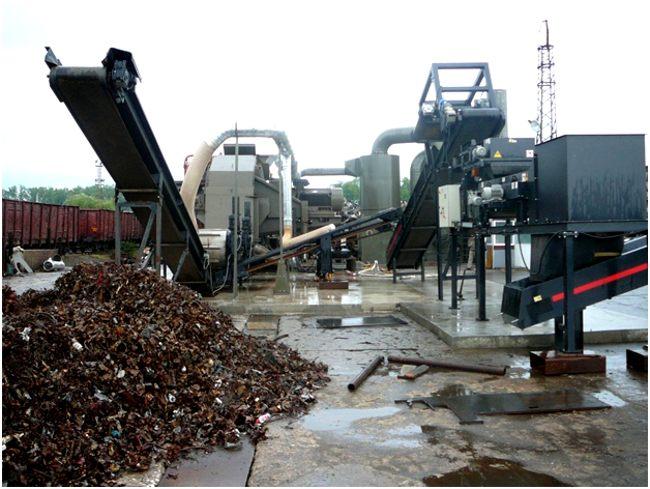 завод по переработке лома