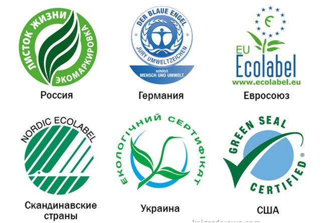 значки экологической безопасности