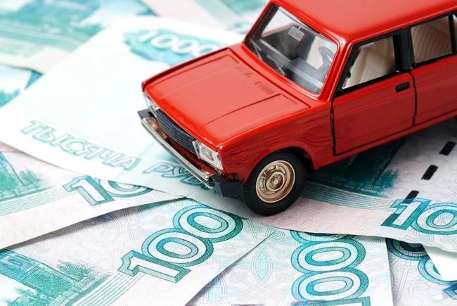 автомобиль на деньгах