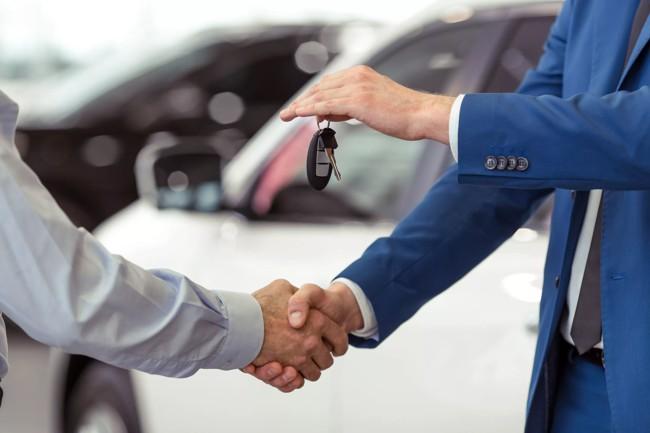 дарят ключи от авто