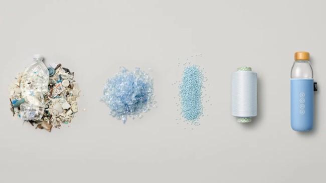 этапы переработки пластика