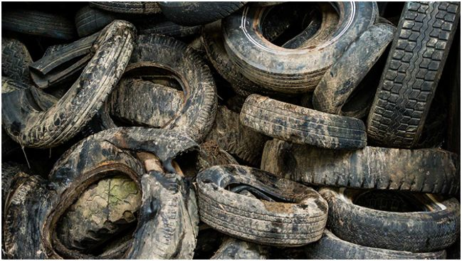 грязные шины