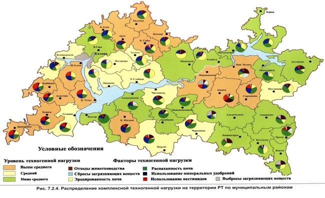 карта полигонов
