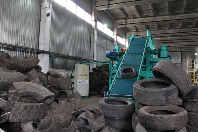 линия для переработки шин
