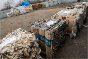 мусорные тюки