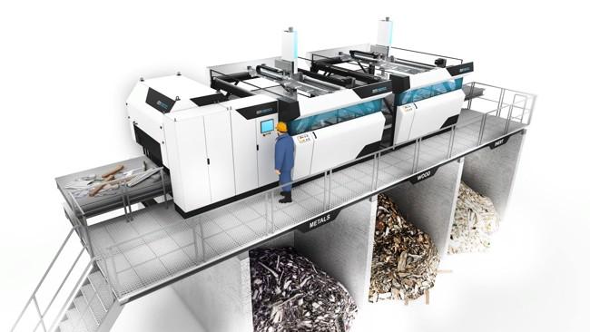 оборудование для сортировки мусора