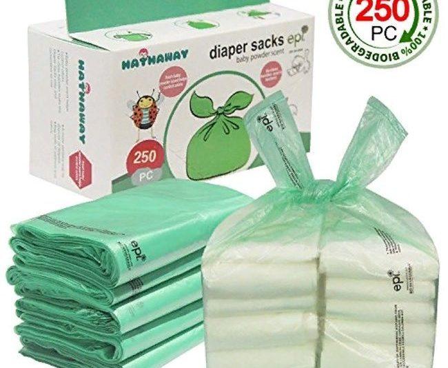 пакеты для использованных подгузников