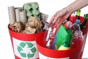 пластик в мусорке