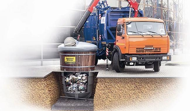 подземные контейнера для мусора