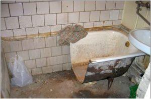 распиленная ванна