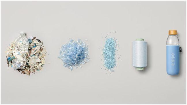 стадии переработки пластика
