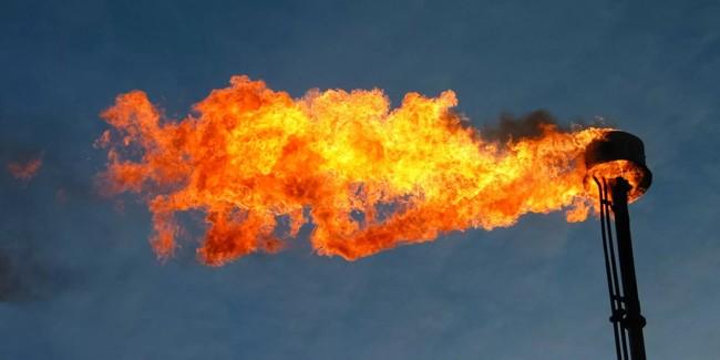 выброс газа