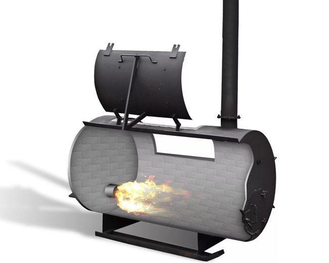 крематор для утилизации отходов