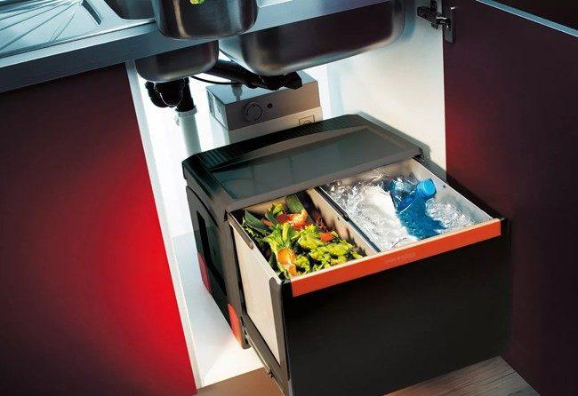пресс для мусора на кухне