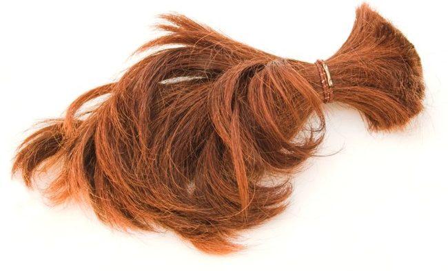 клочок волос